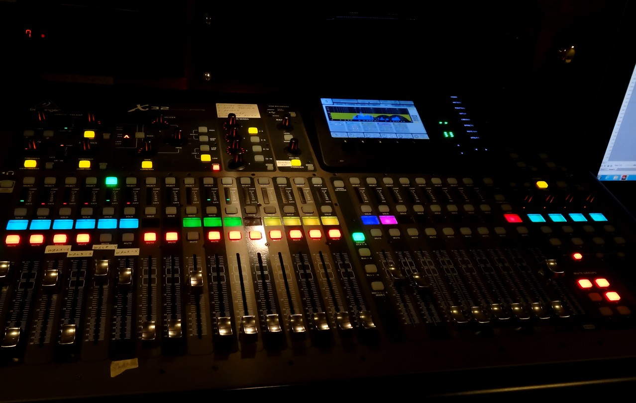 Montana audio visual technician 32 channel live mixing Audio Visual Technicians