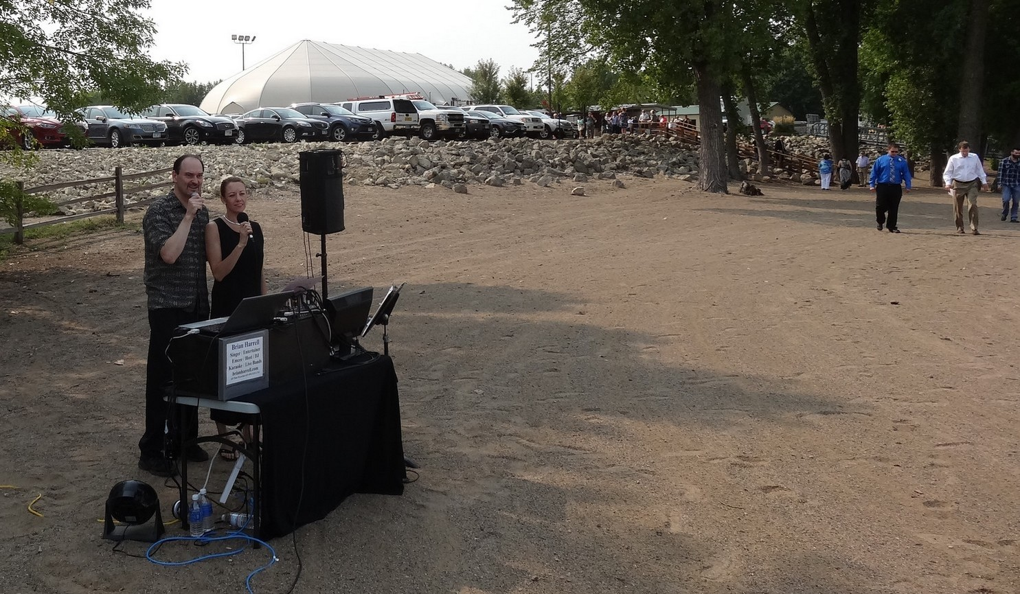 Montana audio visual technician small outdoor shows weddings Audio Visual Technicians