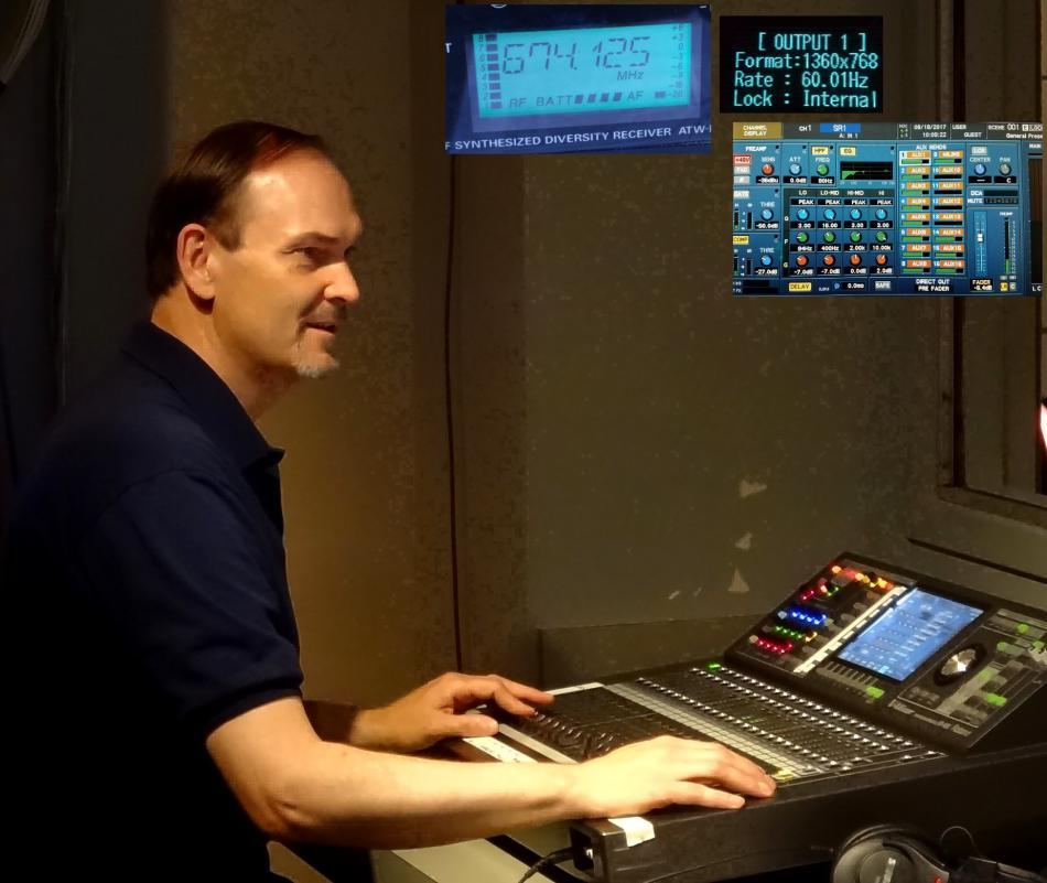 audio visual technicians brian harrell digital live mixing audio technician commercial event twin cities mn