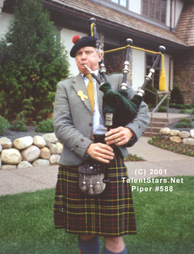 bagpiper weddings funerals 588
