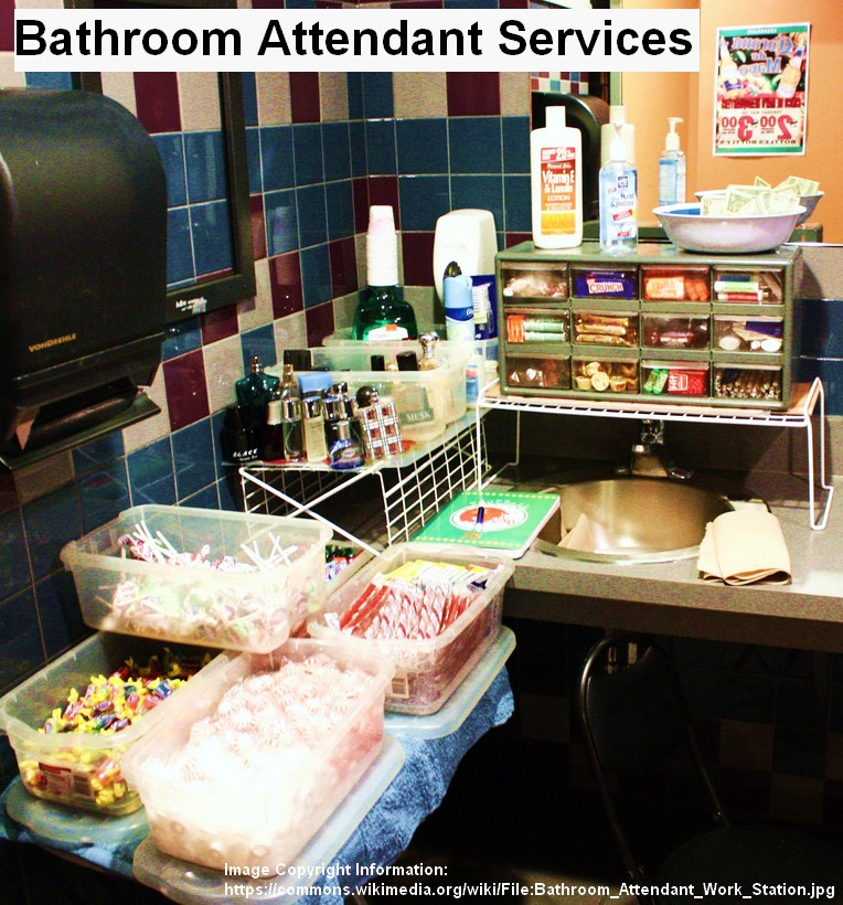 bathroom restroom attendant service for events Restroom Attendant Services