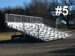 bleacher rentals grandstand rentals 5 Large Bleachers 9 rows or higher portable Grandstand Rentals