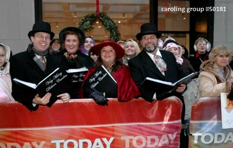carolers the today show live caroling for hire 50181