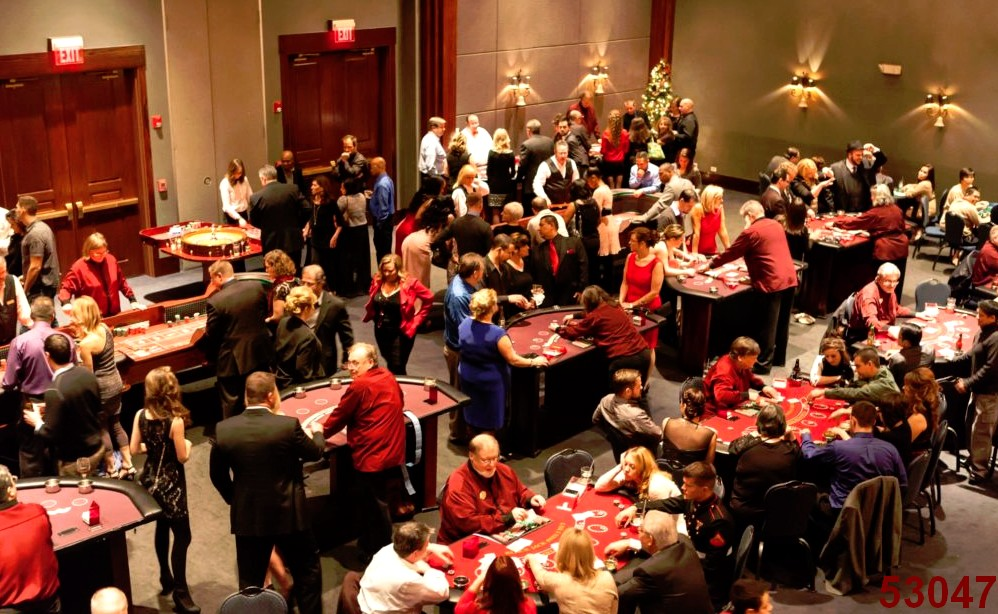 casino games dealers large ballroom corporate events 53047