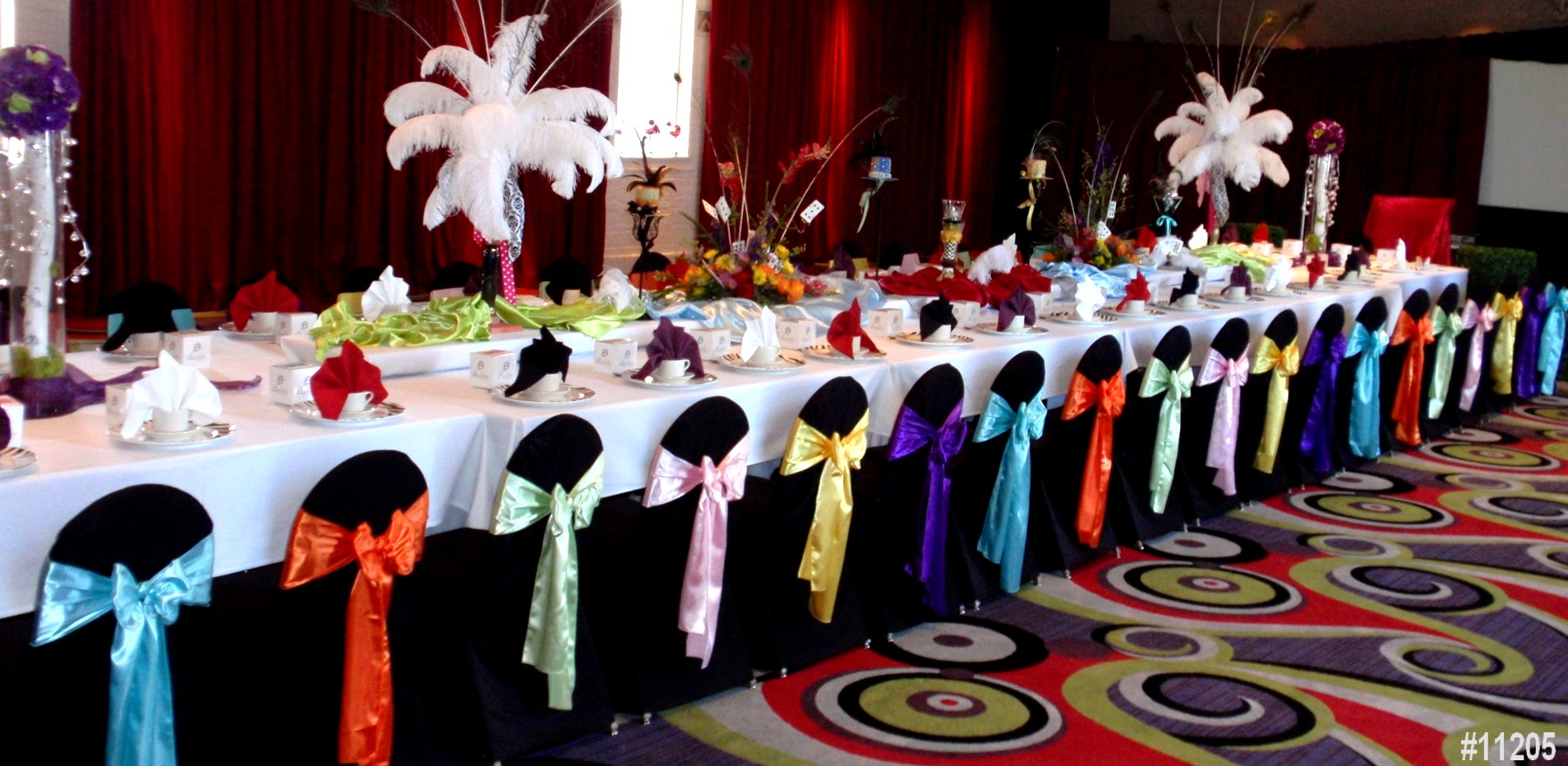Colorado chair cover rentals many colors 11205 Chair cover rentals