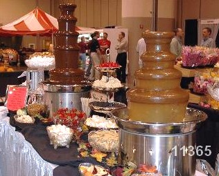 Nebraska chocolate fountain rental large fountain 11365 Chocolate Fountain Rentals