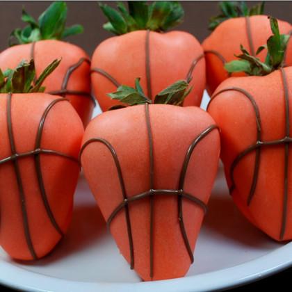 chocolate strawberries chocolate strawberry basketballs