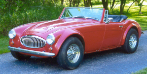 classic car rentals 1962 vintage auto for rental austin healey car wedding ceremony mn