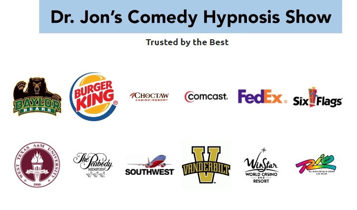comedy hypnotist entertainer corporate references