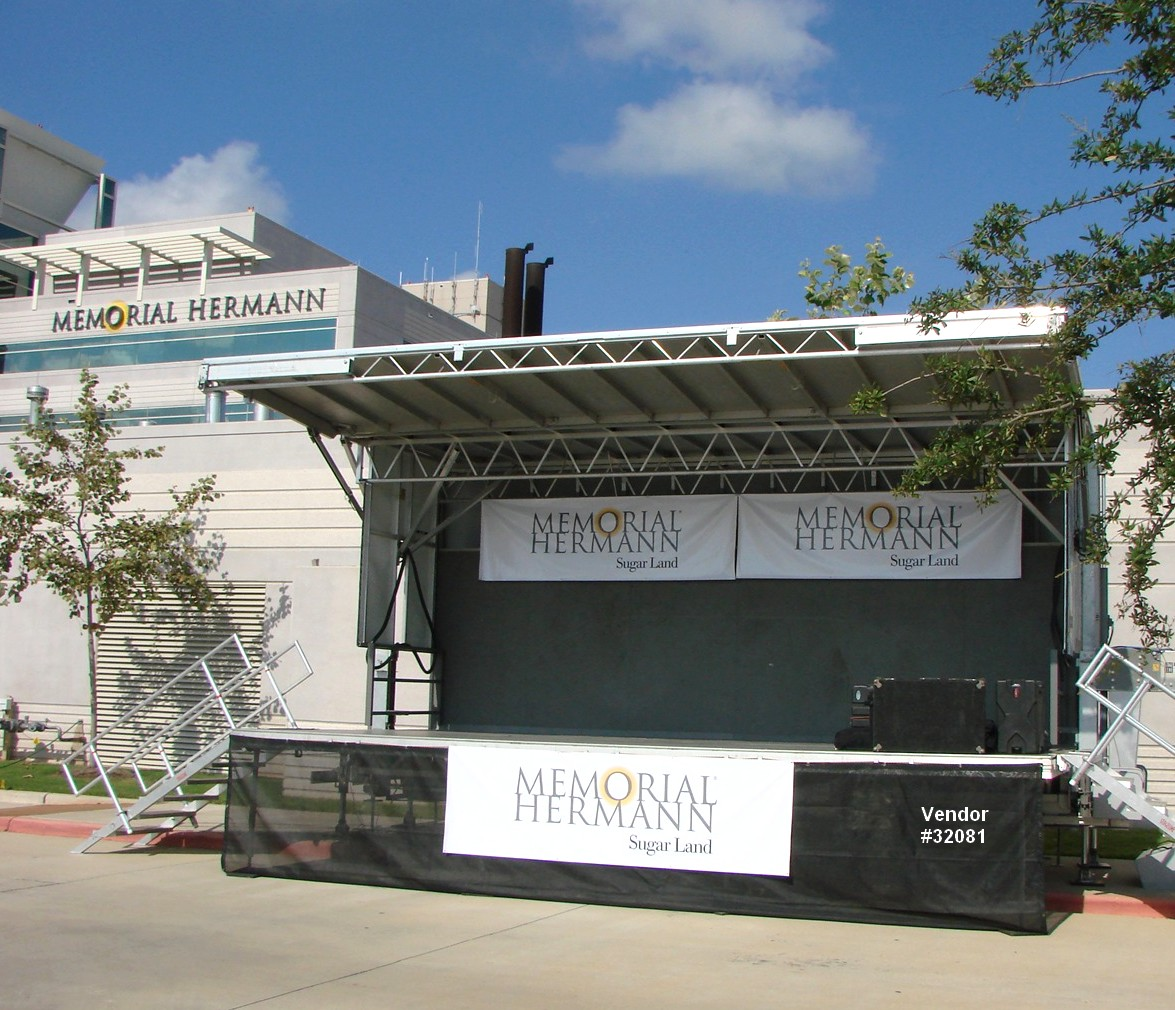 concert mobile stage rental texas