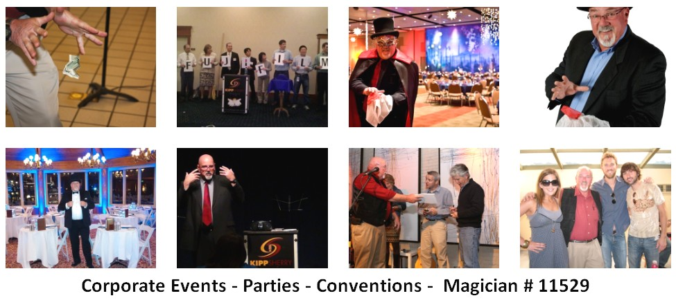 corporate entertainer magician 11529