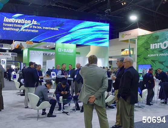 corporate video walls trade show digital signage visual 50694