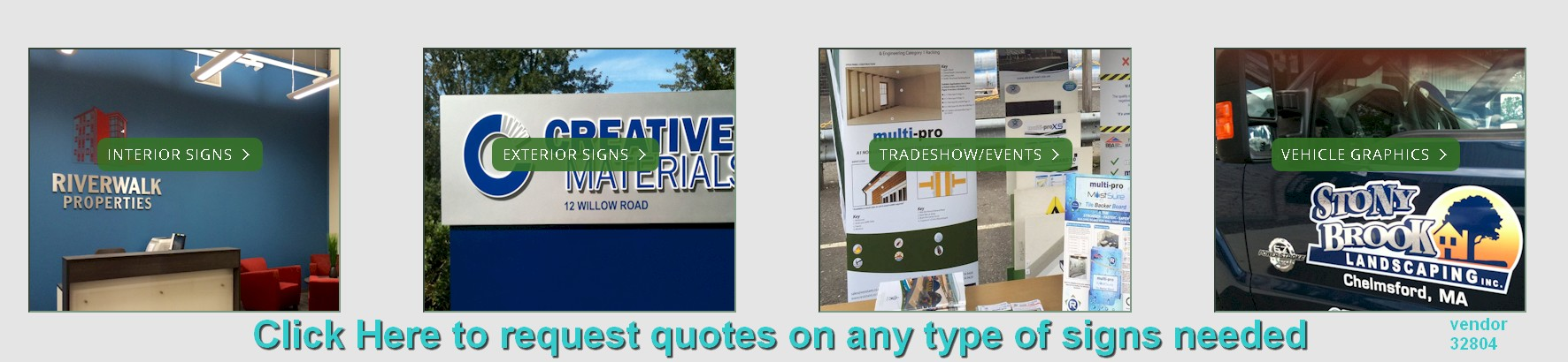 custom signs printed nationwide 32804