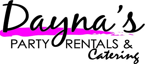 daynas party rentals catering logo new jersey area