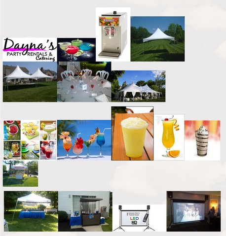 daynas party rentals catering party rental items new jersey area