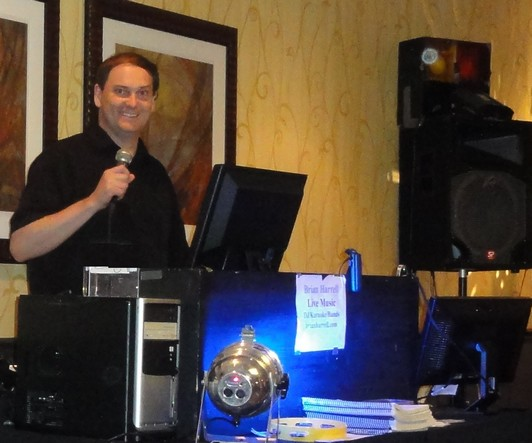 Massachusetts dj brian harrell entertainer weddings Wedding DJs