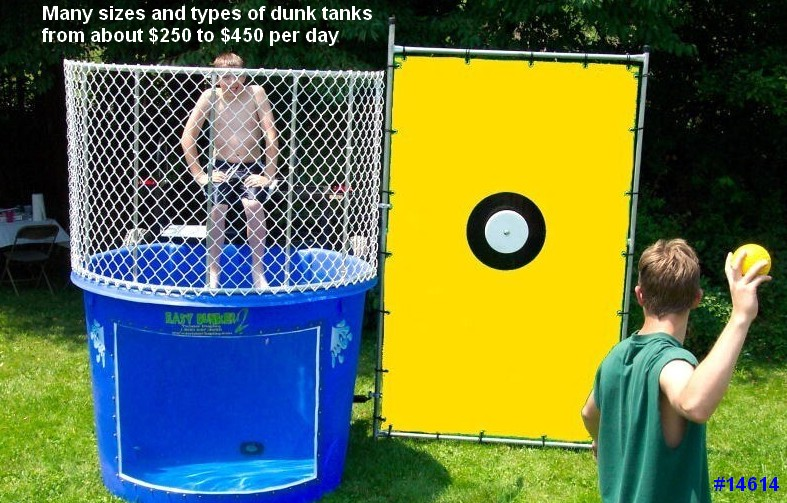 Massachusetts dunk tank rental 14614 Dunk Tank Rentals