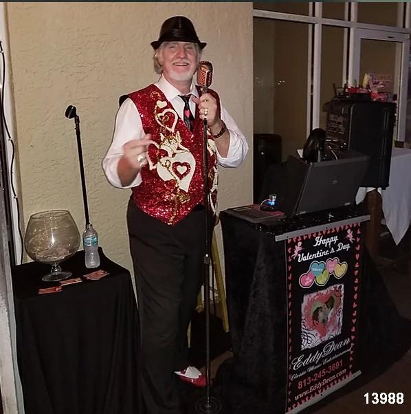 eddy dean senior living shows singer entertainer