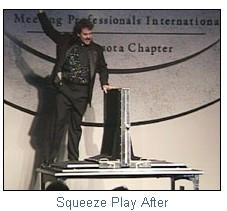 entertainer magician corporate minneapolis illusionist minnesota kevin