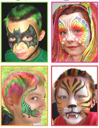 face painting kids