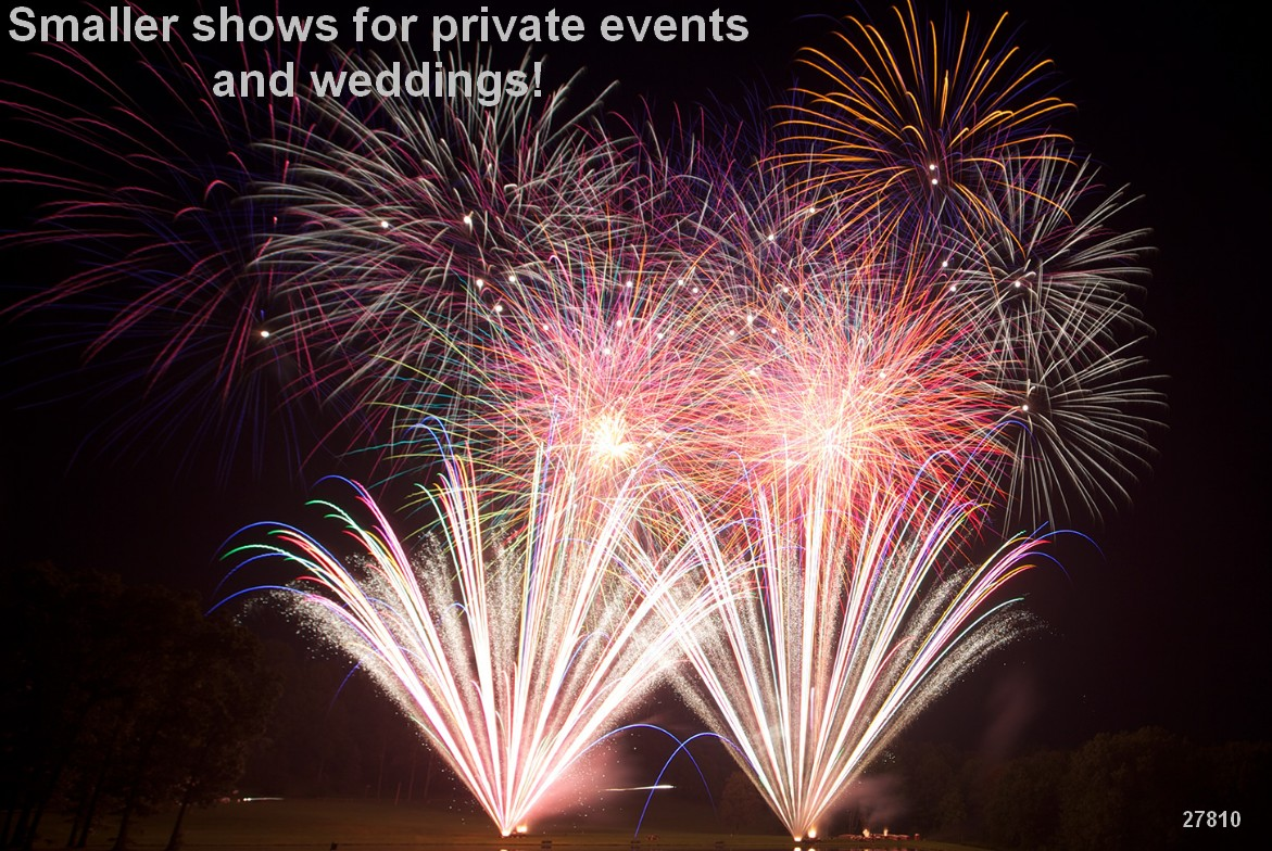 fireworks wedding displays pyro weddings 27810