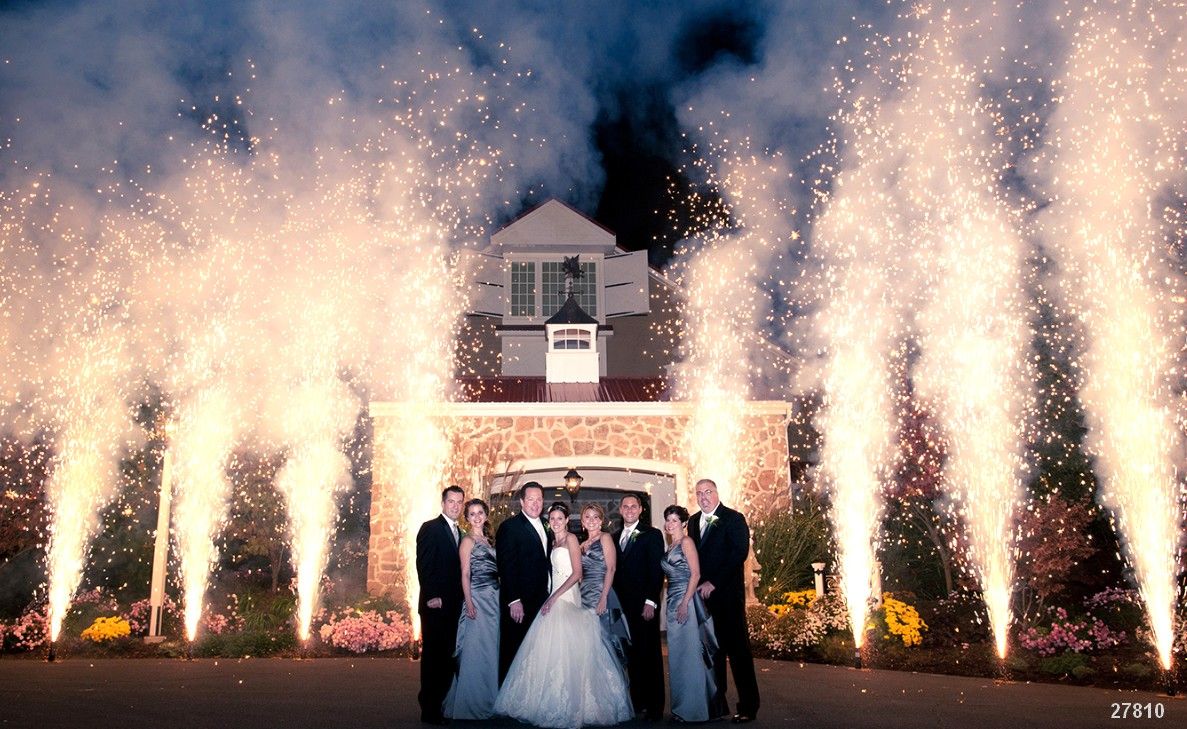 fireworks wedding displays pyro weddings shows sparks 27810