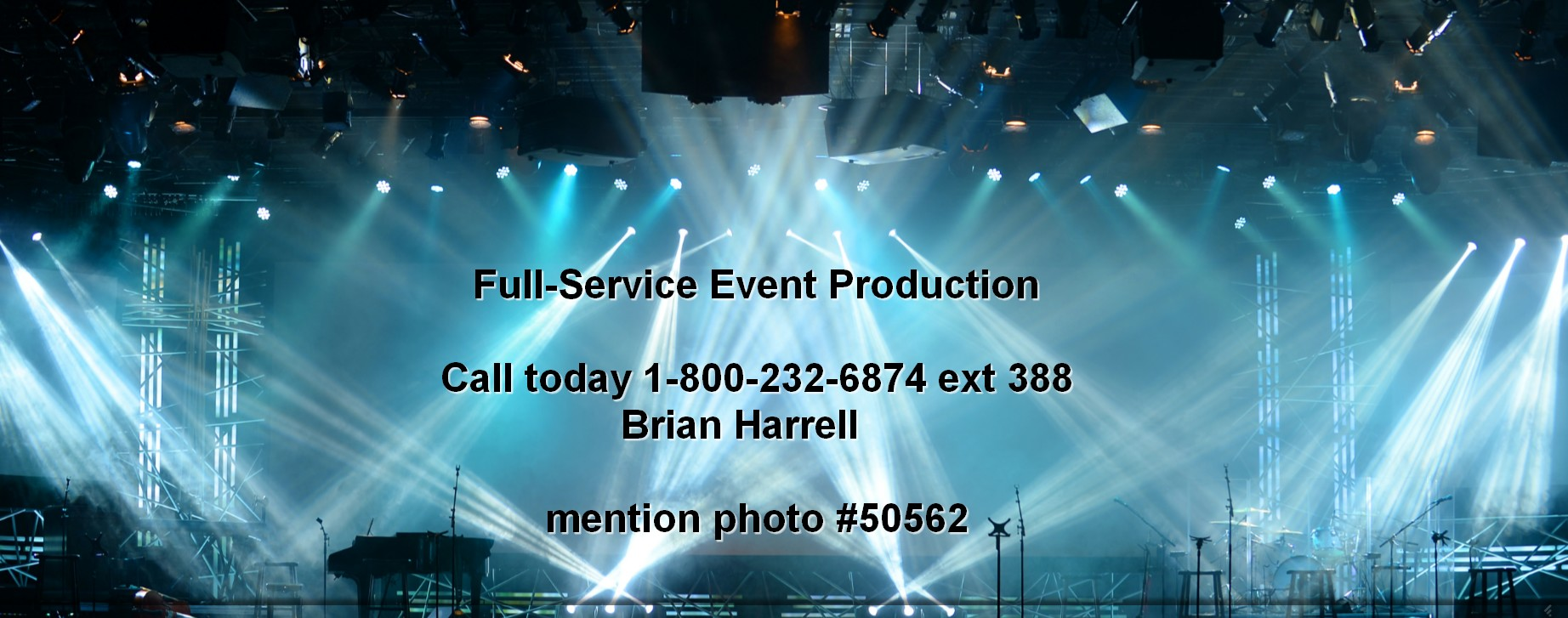 full service event production concert production services nationwide 50562 Live Event Production