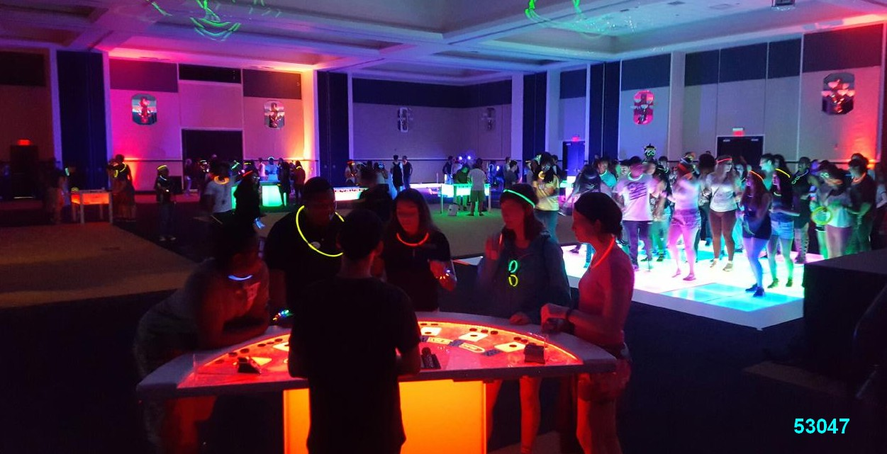 glow games casino games glow in the dark rentals kids  53047 Glow Games
