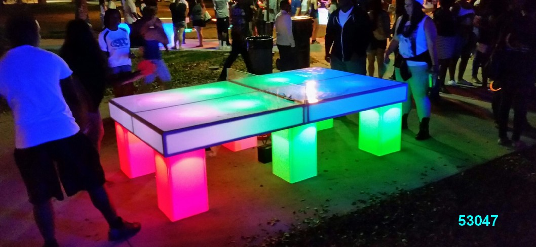glow games ping pong game glow in the dark rentals 53047 Glow Games