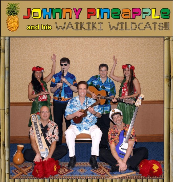 johnny pineapple hawaiian tropical live band minneapolis minnesota