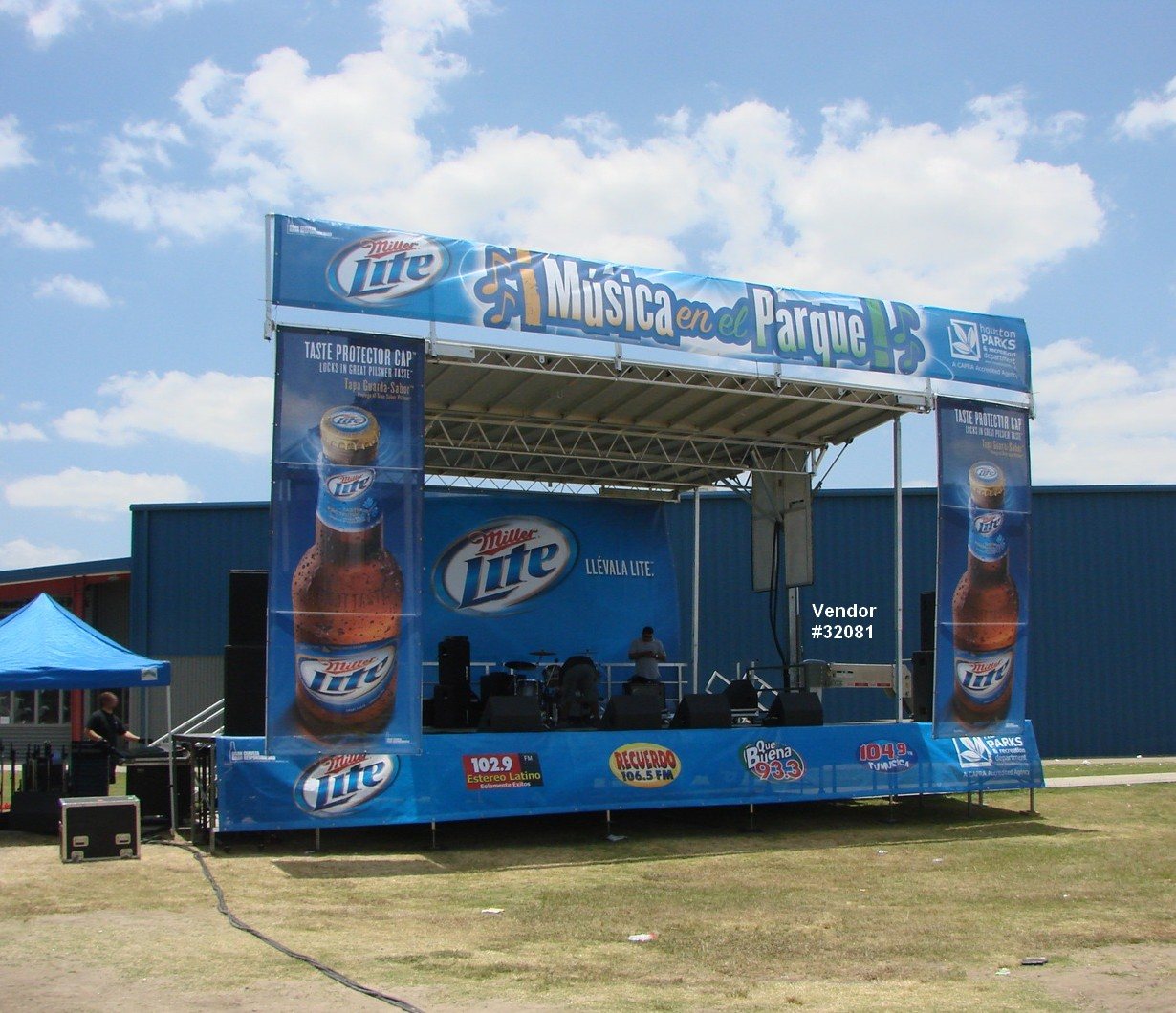 large mobile concert rental stage wrap view 32081