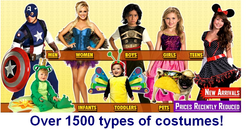 CLICK large photo to the left for quotes - Costumes for sale-thumb