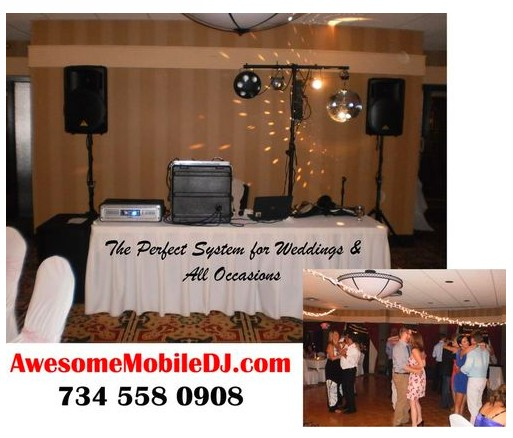 mark dj detroit toledo ann arbor wedding corporate dj system photo