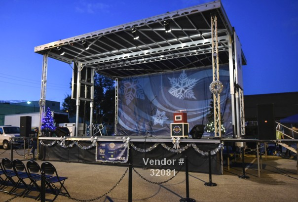 mobile stage rental large events 32081 Staging Rentals