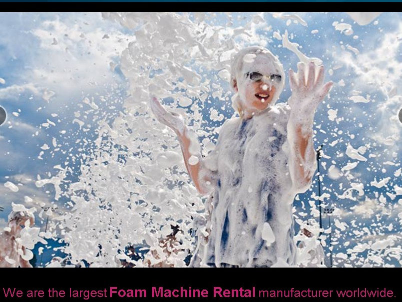 nationwide foam machine party rental 32408 Foam Party Services