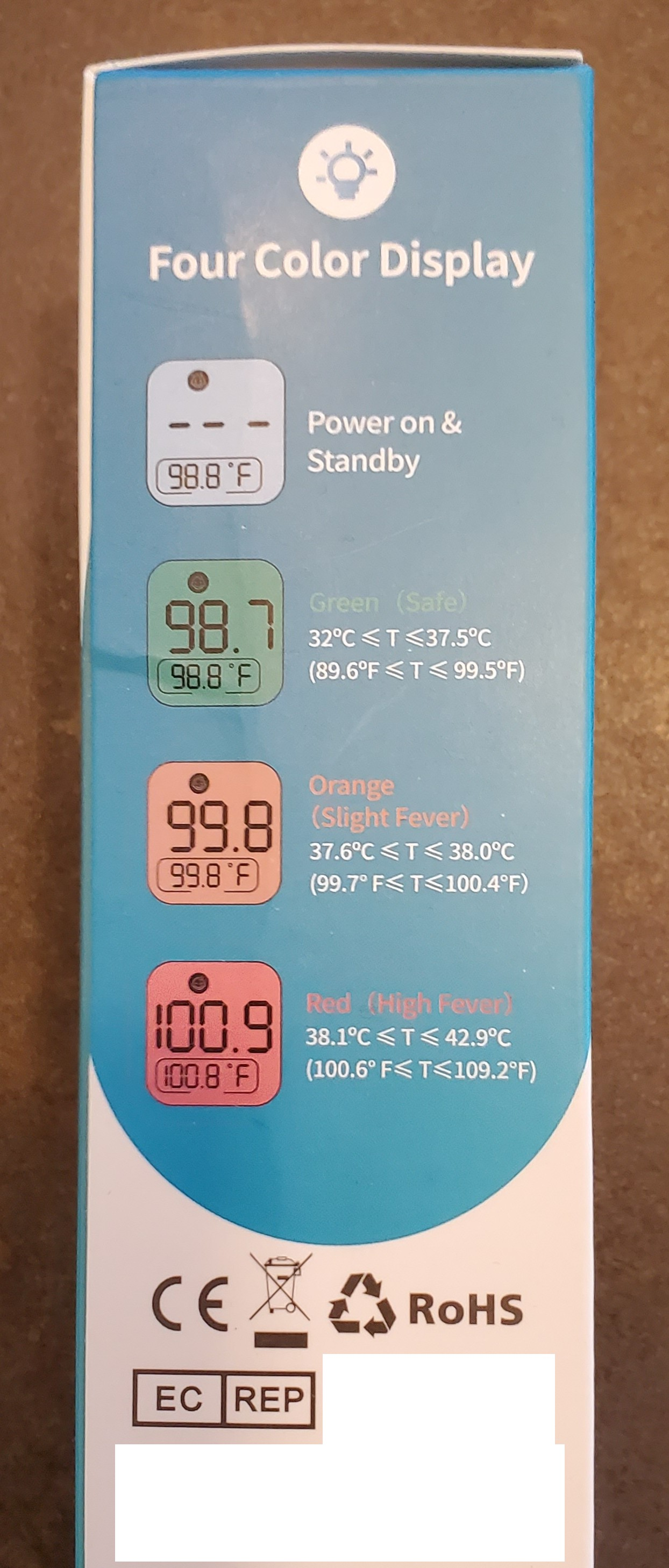 no contact infrared thermometer features2