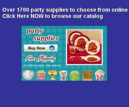 party supplies sas