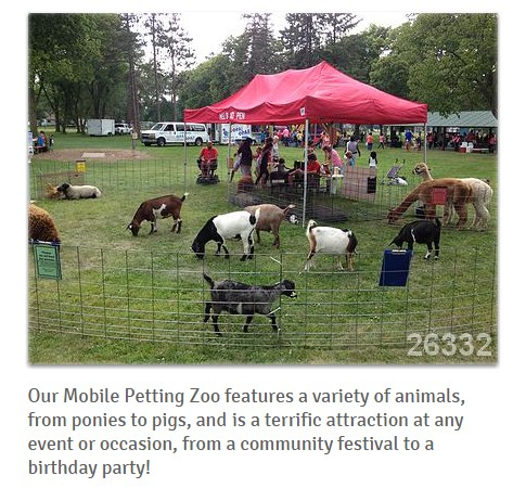 Petting Zoo for hire Los Angeles CA California Local petting zoos