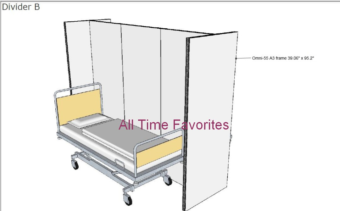 portable medical patient dividers field hospitals5