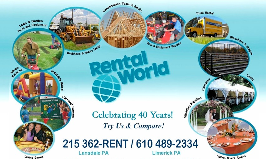 rental world lansdale limerick