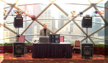 senior event entertainer singer musician minneapolis twin cities photo of equipment