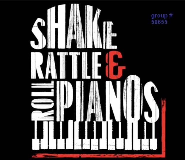 shake rattle roll dueling pianos shows nationwide