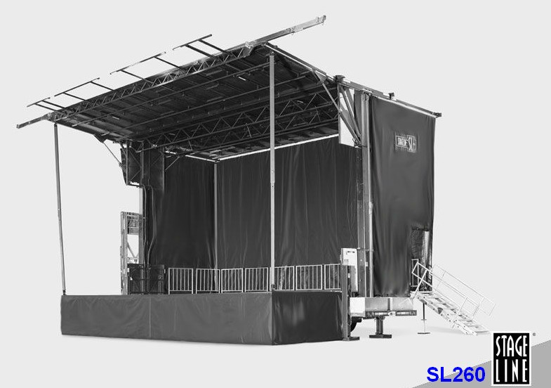sl260 stageline concert mobile stage