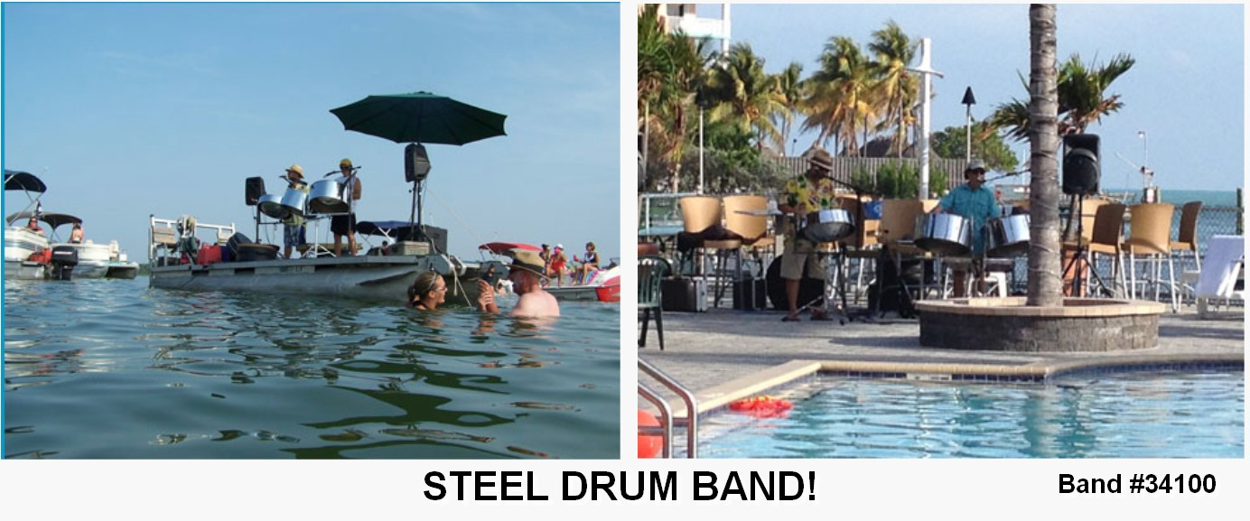 steel drum tropical entertainment live band 34100