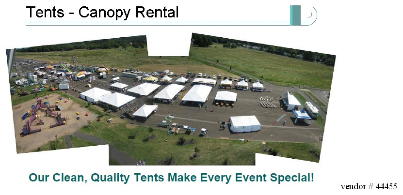 tent rental pennsylvania 44455