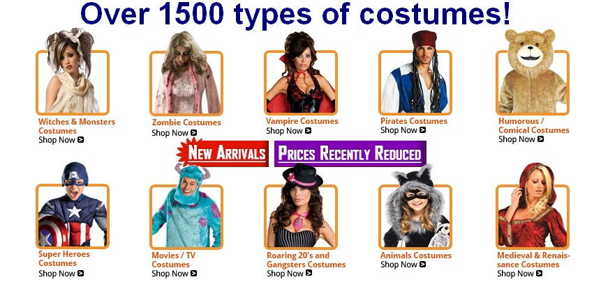 Click to request quotes: Costumes for sale (thousands of costumes sas )-thumb