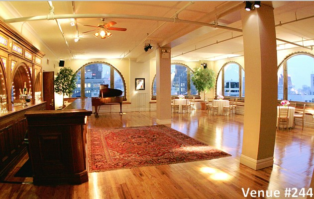 unique hall manhattan venue penthouse rental beautiful view