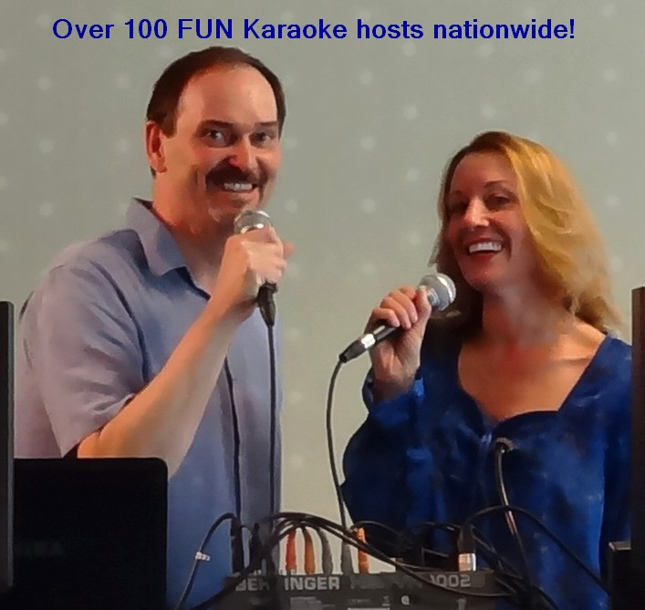 very fun karaoke hosts for your events